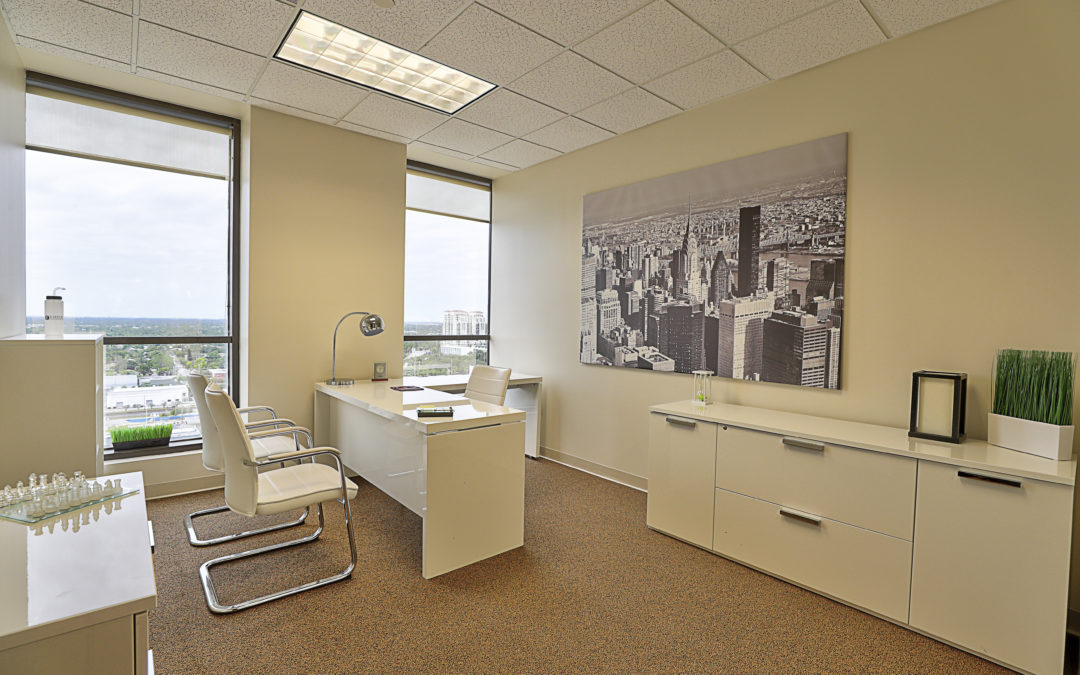 practice social distancing while having a private office space